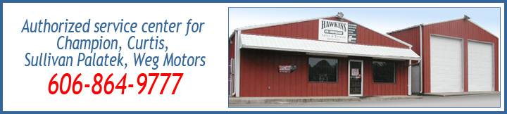 Hawkins Air Compressors Sales and Service, London, Ky